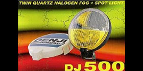 DJ500  FOG + SPOT LIGHT