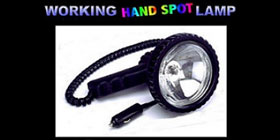 DJ1030 WORKING HAND SPOT LAMP