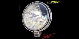 DJ2000  Twin Off Road Light